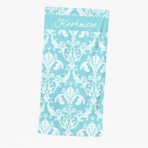 Luxurious spa towel